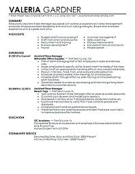Retail Resume Sample Best Sample Resume For Retail Manager Position Foodcityme