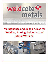 Hardfacing Electrode Comparison Chart Maintenance And Repair Alloys For Welding Brazing