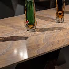 Freya Rustique Wood Stone Hall Table