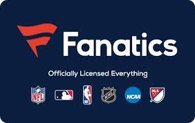 Fanatics eGift | Gift Card Gallery