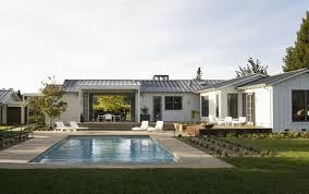 modern architectural interior design. Brilliant Modern Modern Ranch Home Gorgeous White Farmhouse Homes Interior Design  Architecture For 5  In Architectural