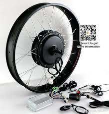 fat bike 48v 1500w electric bike conversion kit rear wheel motor without battery bike diy parts electric bicycle components electric bicycle components