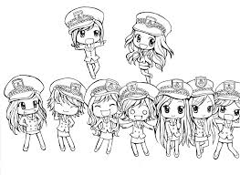 Cute Coloring Pages With Chibi Anime Danemillerco