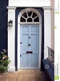Light Blue Front Door Light Blue Door Stock Image Image Of Doorway Wood Retro