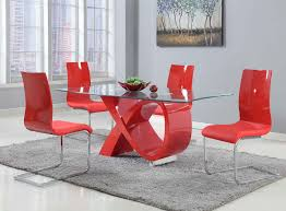 Image Glass Dining 5pcs Contemporary Dining Table Urban Furniture Outlet 5pcs Contemporary Dining Table Az Furniture