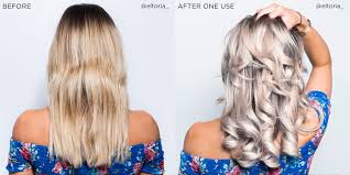Shimmer Lights Shampoo Before And After This Shampoo Will Completely Transform Your Blonde Hair With