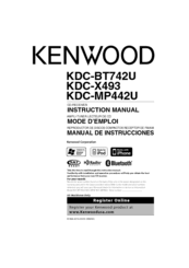 kenwood excelon kdc x493 manuals