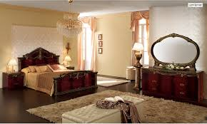 Mahogany Bedroom Furniture Luxor Bedroom Set In Mahogany Lacquer Finish By Camelgroup Made