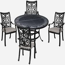 outdoor furniture set with umbrella inspirational white round kitchen table set practical versailles yx 54