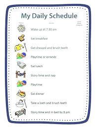 Summer Camp Daily Schedule Template Daily Schedule Ideas Stingerworld Co