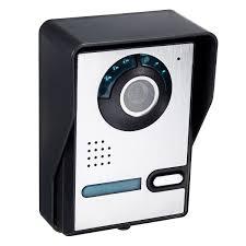 Wired 7 inch Color Video Door Phone Doorbell Intercom Security ...