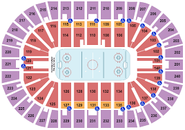 Cyclones Hockey Seating Chart Heritage Bank Center Seating Chart Cincinnati