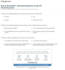 engaging quiz worksheet chemical equations on the ap chemistry exam writin writing chemical equations worksheet worksheet