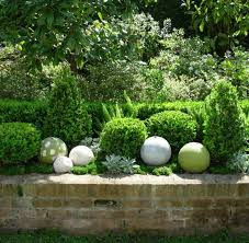 Stone Ball Garden Decoration Enchanting 332 Best Garden32 Images On Pinterest Garden Ideas Plants And