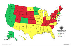 legal weed states map