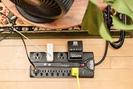 the best surge protector reviews by wirecutter a new york times a view from above of a tripp lite 12 outlet surge protector a few