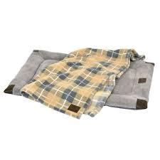 tan bed blanket set