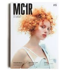 Club magazine model redhead