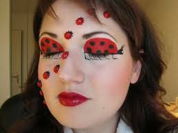 ladybug makeup for halloween