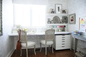 craft room home office design. 30 Gorgeous Shabby Chic Home Offices And Craft Rooms Within Office Decor 10 Room Design