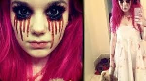red riding hood zombie 2 by lilxstarxjo creepy little makeup tutorial you