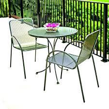 metal bistro set. Metal Bistro Set Heirloom Outdoor Patio Table For .