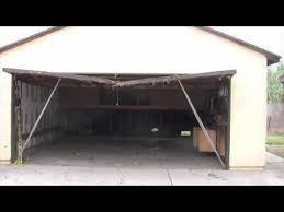 garage door headerHow To Fix A Sagging Header On A Garage Door