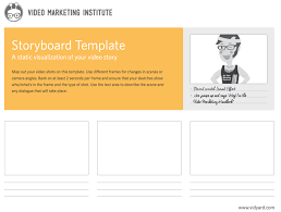 Video Storyboard Template NonArtist's Guide To Storyboarding Marketing Videos Vidyard 24