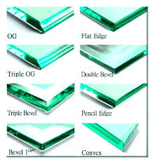 beveled glass table top edge styles types of edges fancy small home tops gla custom glass top for dining table beveled