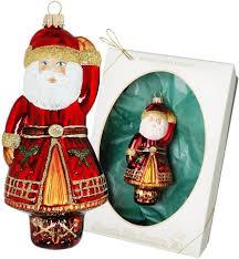 Krebs Glas Lauscha Christbaumschmuck Weihnachtsmann 1 Tlg Mundgeblasen Festlicher Christbaumschmuck Online Kaufen Otto