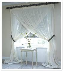 criss cross curtains simple custom made living room bay window purple sheer mauve priscilla
