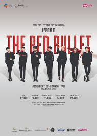 bts live trilogy the red bullet in manila