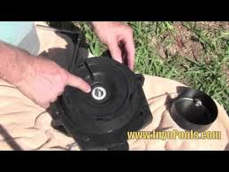 how to replace a pool pump motor