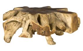 teak root table jayson home rh jaysonhome com solid wood coffee tables root end table