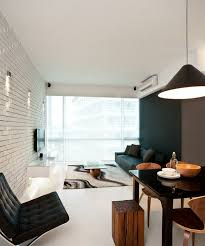 living room with black furniture. Black Furniture: Interior Design Photo Ideas. Unusual Lamp With Paint And Conу Form Living Room Furniture .