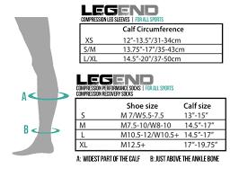 Legend Compression Leg Sleeves