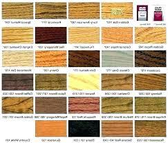 Floor Stain Color Chart Oak Wood Color Backwoodsoffroad Co