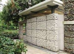 Small Picture gabion stone house cladding veneer Gabion Walls Pinterest