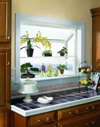 Garden Windows For Kitchen Garden Window Decorating Ideas To