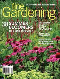 fine gardening magazine. Perfect Gardening Fine Gardening  Issue 182 On Magazine N