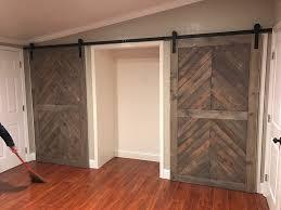 renovation barn door closet doors