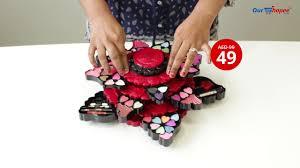 make up kit set erfly design beauty face trere art no 354
