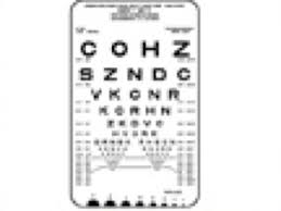 Logmar Near Vision Chart Near Visual Acuity Chart Ophthalmologyweb The Ultimate