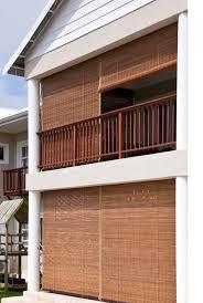 outdoor bamboo roller blinds 3000mm width x 2500mm drop