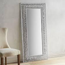 silver floor mirror. Interesting Silver And Silver Floor Mirror G