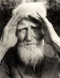 pyg on the fifi organization george bernard shaw was born in 1856 and died in 1950 at the age of 94 he was a confirmed socialist vegetarian and thinker