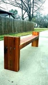 planter bench plans garden post outdoor wood kitchen