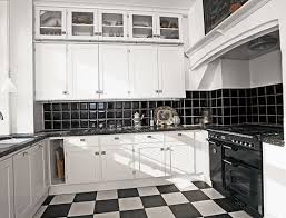 Kitchen Design For Apartments Enchanting Apartment In Black And White Classic Color Home Interior Design