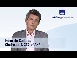 Image result for henri de castries axa