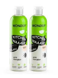 Гель для <b>мытья</b> посуды Kitchen Waaave <b>сливочные</b> фрукты, 0.5 л ...